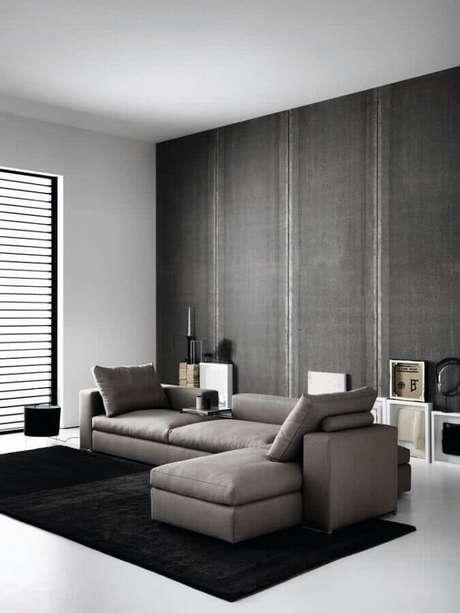 1. Saiba como escolher o melhor sofá para a sua sala e transforme a sua decoração – Foto: HomeIt