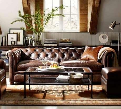 18. É importante conhecer o tipo de tecido do seu sofá antes de limpá-lo – Foto: Archilovers