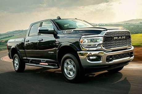 RAM Pick-up, que terás mais um modelo no Brasil: segundo lugar nos EUA.