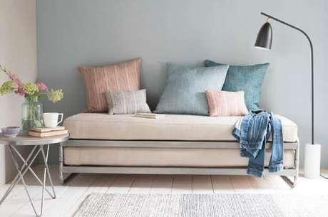 68. Sofá cama simples – Foto: Diseno de Interiores