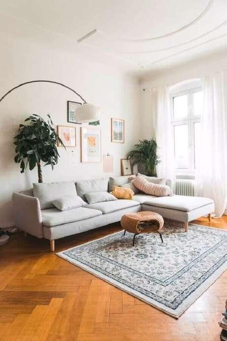 14. Escolha o melhor sofá conforme o tipo de tecido – Foto: Article