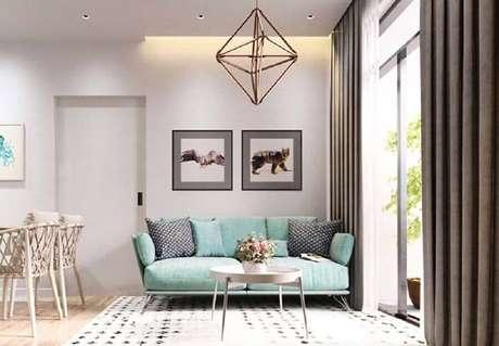 17. Saiba como limpar sofá e mantenha o bom estado do seu – Foto: New Decoration Ideas