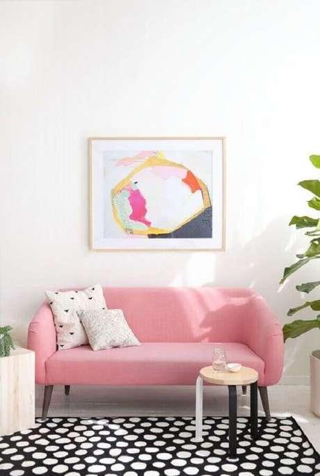 2. Para escolher o melhor sofá é preciso saber o tamanho da sala – Foto: Alquimia Decor