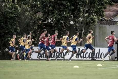 Santos muda rotina de treinos (Foto: Divulgação/Ivan Storti – Santos FC)