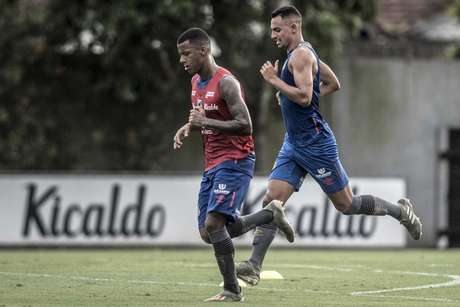 Guilherme Nunes voltou de empréstimo do Paraná (Ivan Storti/Santos)