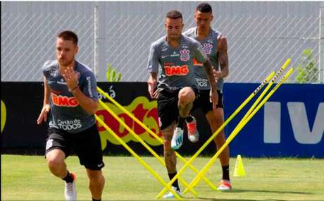 Corinthians realizou o último treino antes de viajar aos EUA (Foto:Daniel Augusto Jr/Agência Corinthians)