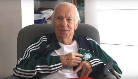 Valdir Joaquim de Morais, ídolo do Palmeiras, morreu neste sábado (Foto: Reprodução/TV Palmeiras)