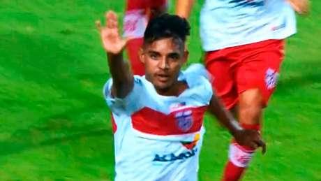CRB eliminou o Fluminense na Copinha - Foto: reprodução Sportv