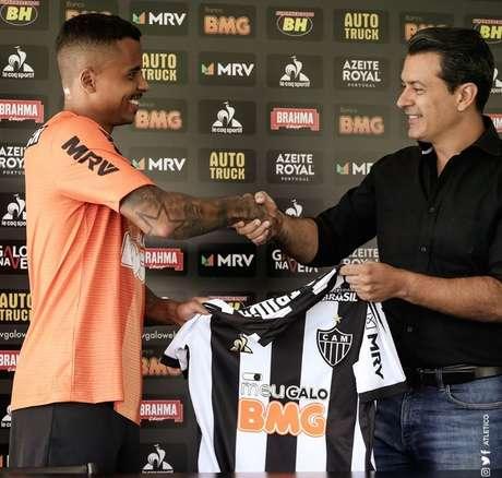 Allan foi anunciado pelo Galo na última quarta-feira (Foto: Divulgação/CAM)
