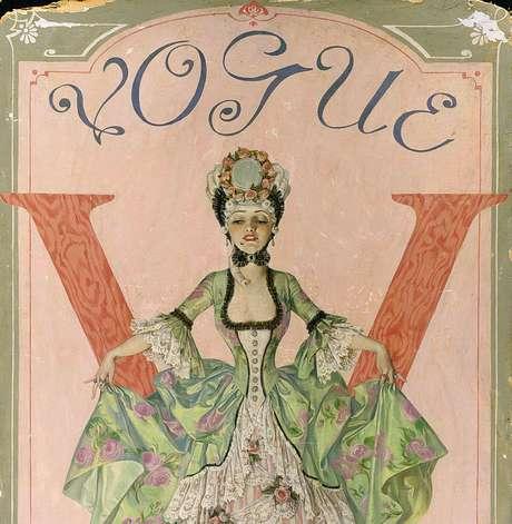 As revistas estavam entre os materiais de leitura considerados 'apropriados' para as damas