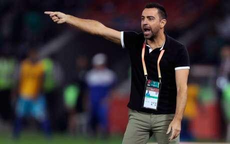 Xavi pelo Al-Sadd no Mundial de Clubes: espanholrecusa o Barça epermanece no Qatar(Foto: KARIM JAAFAR / AFP)