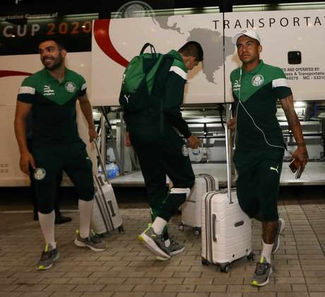 Dudu está com o Palmeiras nos Estados Unidos para a disputa da Florida Cup (Foto: Divulgação)