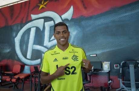 Pedro Rocha, emprestado pelo CSKA Moscow, defenderá o Flamengo em 2020 (Foto: Alexandre Vidal/Flamengo)