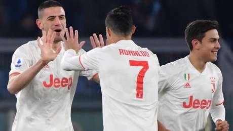 Juventus vence e assume a liderança do Italiano - ANDREAS SOLARO / AFP