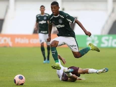 Palmeiras venceu o Sertãozinho por 3 a 0 e avançou na Copinha (Foto: Fabio Menotti/Ag. Palmeiras)