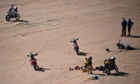 Paulo Gonçalves faleceu após acidente no Rally Dakar.