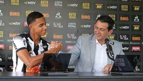 Dylan Borrero é o novo reforço do Atlético-MG