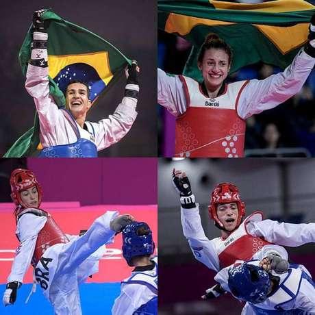 Atletas que vão disputar o pré-olímpico de tae kwon do