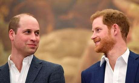 William e Harry em Londres 26/04/2018 REUTERS/Toby Melville