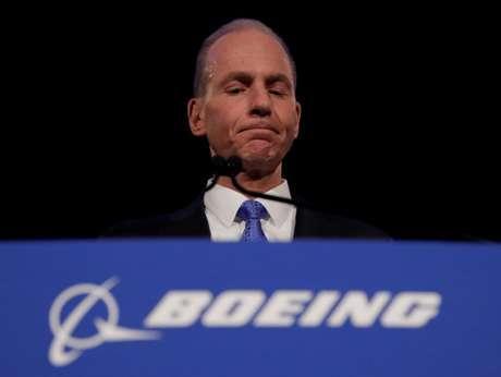 Novo presidente-executivo da Boeing, David Calhoun 29/04/2019 Jim Young/Pool via REUTERS