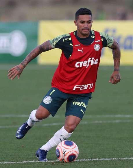 Dudu está com o Palmeiras preparando-se para a disputa da Florida Cup (Foto: Cesar Greco)