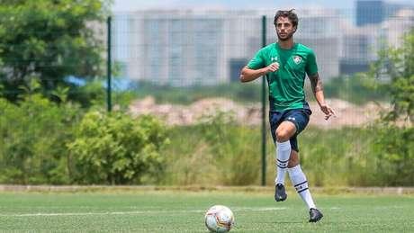 Hudson tem status de titular neste início de temporada no Tricolor (Foto: Lucas Merçon/Fluminense)