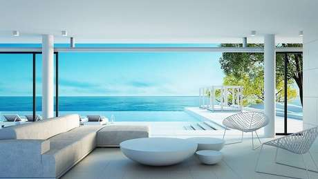 7. A piscina com borda infinita está super em alta – Foto: Habitissimo.com