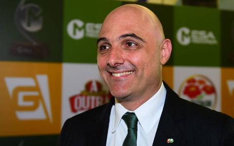 Maurício Galiotte valorizou a base do Palmeiras (Foto: Divulgação/Sergio Barzaghi)