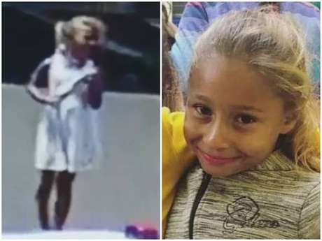 Emanuelle Pestana de Castro tinha 8 anos;câmeras de segurança registraram a menina em uma praça antes do desaparecimento