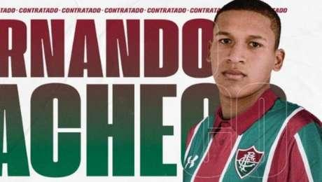 Fernando Pacheco é o novo reforço do Fluminense