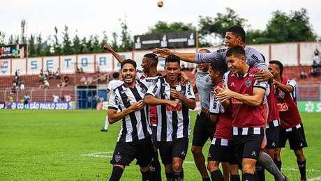 Atlético-MG está classificado para as oitavas de final da Copinha
