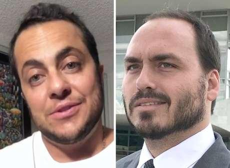 Thammy Miranda e Carlos Bolsonaro