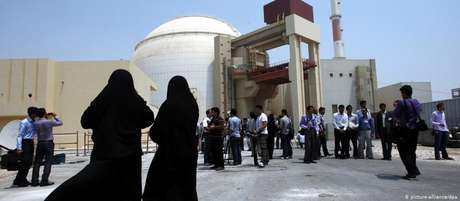 A usina nuclear iraniana de Bushehr