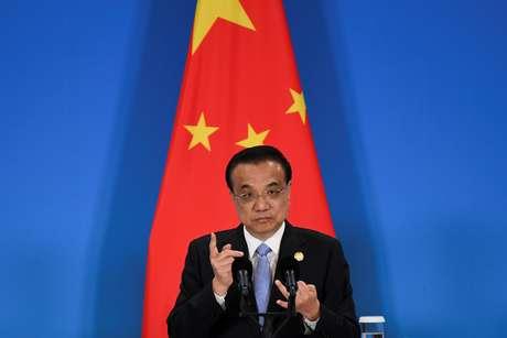 Primeiro-ministro da China, Li Keqiang.  Wang Zhao/Pool via REUTERS