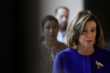 Presidente da Câmara dos EUA, Nancy Pelosi 09/01/2020 REUTERS/Tom Brenner