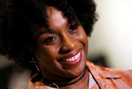 Escritora nigeriana Chimamanda Ngozi Adichie durante entrevista à Reuters em Santiago 13/01/2020 REUTERS/Rodrigo Garrido