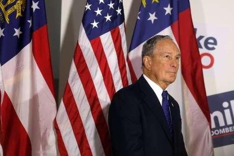 Mike Bloomberg 10/01/2020 REUTERS/ Chris Aluka Berry