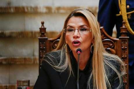 Presidente interina da Bolívia, Jeanine Añez 30/12/2019 REUTERS/David Mercado