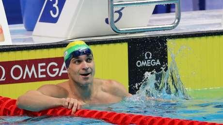 Brasileiro leva a prova na etapa de Shenzhen da competição (Foto: Satiro Sodré/SSPress/ CBDA)