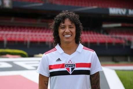 Cristiane ficou uma temporada no São Paulo e agora encaminha ida para o Santos (Foto: Divulgação)