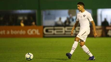 Yuri disputou 25 partidas pelo Tricolor, 21 como titular (Foto: Lucas Merçon/Fluminense)
