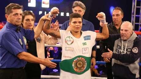 Adriana Araújo foi o principal destaque da sexta edição do Boxing For You (Foto: Mario Palhares | B4Y)