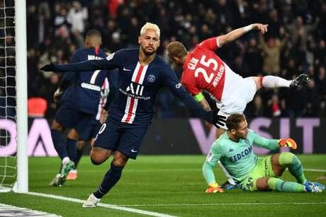 Após grande partida de Neymar no domingo, PSG e Mônaco se reencontram nesta quarta (AFP)