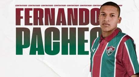 Fernando Pacheco já vestiu a camisa tricolor (Foto: Divulgação/Fluminense)