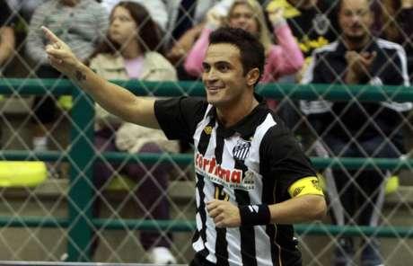 Falcão atuou no Santos no início da década passada (Manolo Quiróz/Santos)