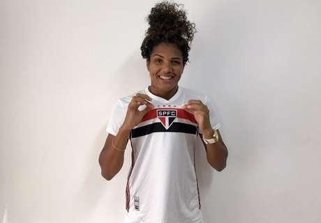 Duda chegou para reforçar o São Paulo no início desta temporada (Foto: Reprodução/Twitter São Paulo)