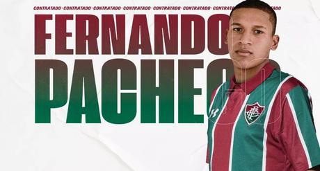 Fernando Pacheco é o novo reforço do Fluminense (Foto: Reprodução)