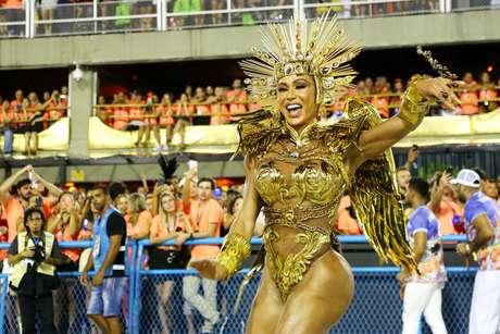 Gracyanne Barbosa será destaque da União da Ilha do Governador