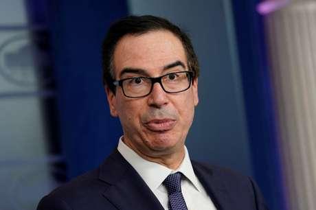Secretário do Tesouro dos Estados Unidos, Steven Mnuchin 11/10/2019 REUTERS/Yuri Gripas