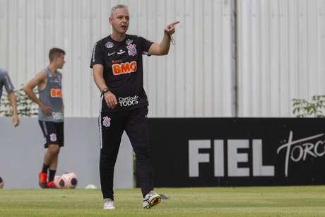 Tiago Nunes assume o maior desafio de sua carreira no Corinthians (Daniel Augusto Jr./Agência Corinthians)